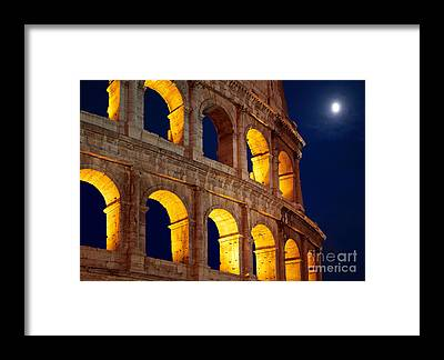 Ancient Rome Framed Prints