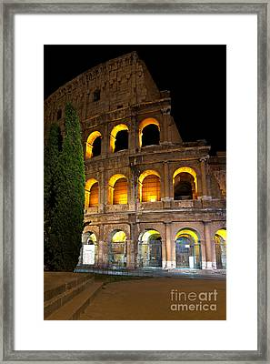 Colosseum Framed Print by Francesco Emanuele Carucci
