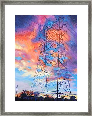 Colossus Framed Print by Bonnie Lambert