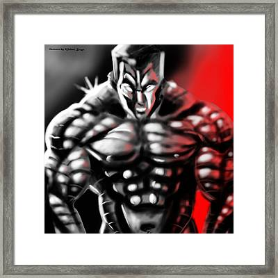 Colossus Framed Print by Michael Briggs