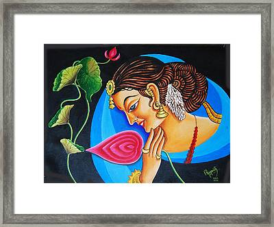 Colour And Creativity Framed Print by Ragunath Venkatraman
