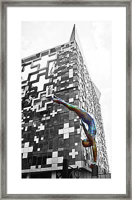 Colour Balance Framed Print