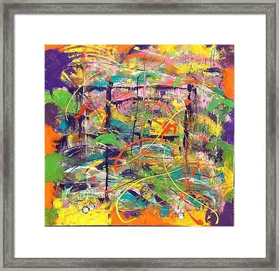Colour Bazaar Framed Print by Judi Goodwin