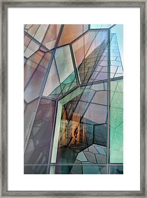 Colour Mosaic Framed Print