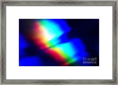 Coloured Light Framed Print by Martin Howard