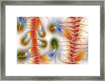 Colourful Emotions Framed Print