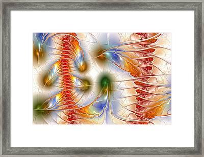 Colourful Emotions Framed Print by Anastasiya Malakhova