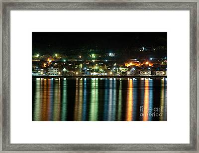 Colourful Night Framed Print by Ciprian Kis