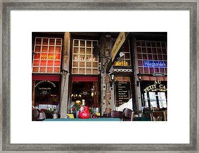 Colourful Place Framed Print