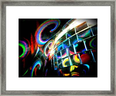 Colourful Reflections Framed Print