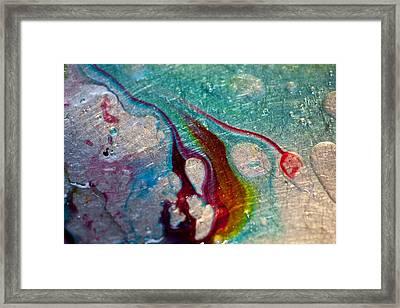 Colourful Sink Framed Print