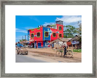 Colourfull Africa Framed Print