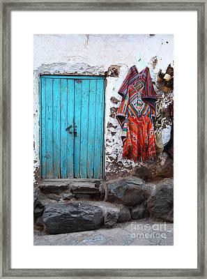 Colours Of Peru Framed Print by James Brunker