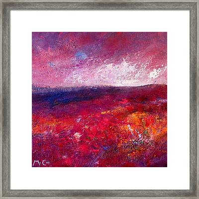 Colours Of Provence Framed Print