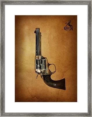 Colt Bisley Framed Print by Mark Rogan