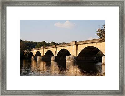Columbia Bridge Framed Print by Christopher Woods