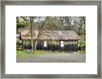 Columbia Cottage Framed Print