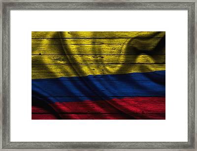 Columbia Framed Print by Joe Hamilton