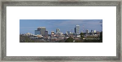 columbia SC pano Framed Print