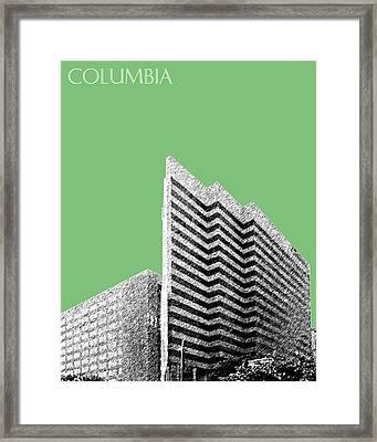 Columbia South Carolina Skyline 2 - Apple Framed Print