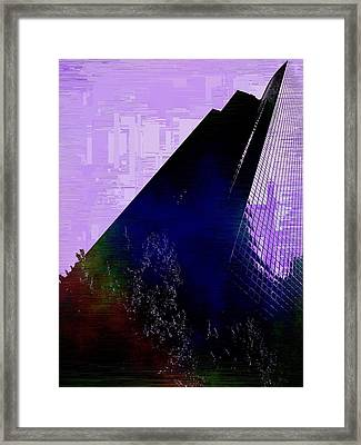 Columbia Tower Cubed 4 Framed Print