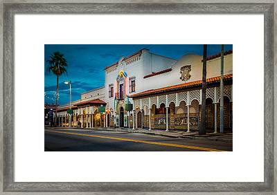 Columbia Framed Print by Ybor Photography