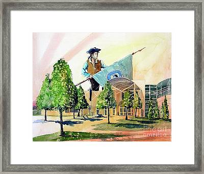 Columbine 40 Years Framed Print by Tom Riggs