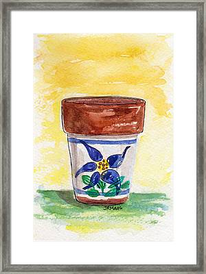 Columbine Container Framed Print