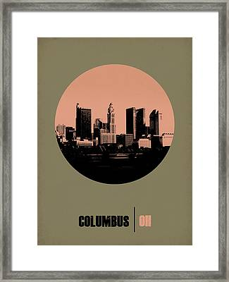 Columbus Circle Poster 1 Framed Print