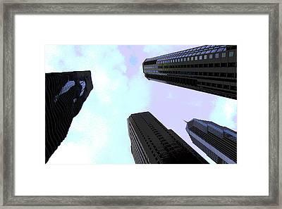 Columbus Drive Chicago Framed Print by Greg Thiemeyer