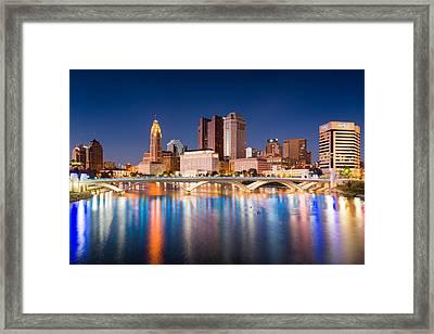 Columbus Ohio Framed Print