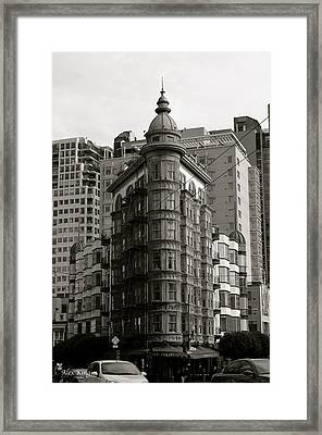 Columbus Tower San Francisco Framed Print by Alex King