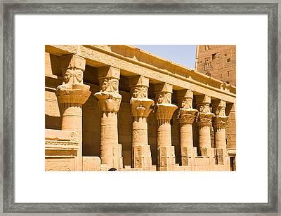 Column Art Framed Print