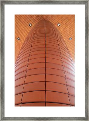 Column Of Strength Framed Print by Randall Weidner