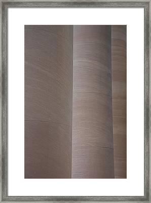 Column Sentries Framed Print
