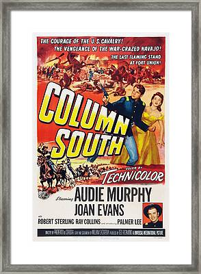 Column South, Us Poster, From Top Left Framed Print