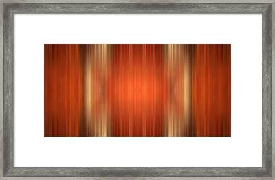 Columns Framed Print by Gabiw Art