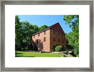 Framed Print featuring the photograph Colvin Run Grist Mill by Bob Sample