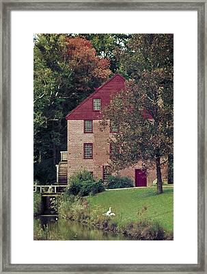 Colvin Run Mill Framed Print