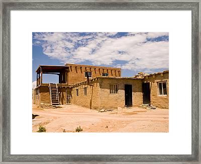 Acoma Pueblo Home Framed Print