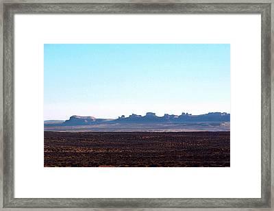 Comb Ridge Framed Print by Roger Burkart