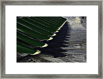 Combine Framed Print by The Stone Age