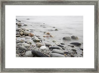 Combing The Beach Framed Print by Andrew Pacheco