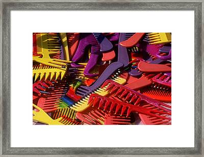 Framed Print featuring the photograph Combs by Rodney Lee Williams