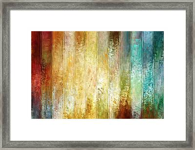 Come A Little Closer - Abstract Art Framed Print by Jaison Cianelli