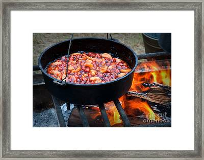 Come And Get It Dessert Framed Print by Fred Lassmann