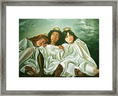 Come Back Home Framed Print by Shelley Laffal
