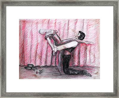 Come Dance With Me Framed Print by M C Sturman