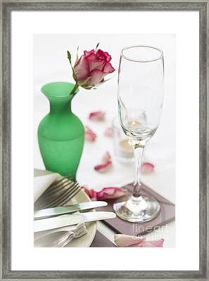Come Dine With Me Framed Print by Donald Davis