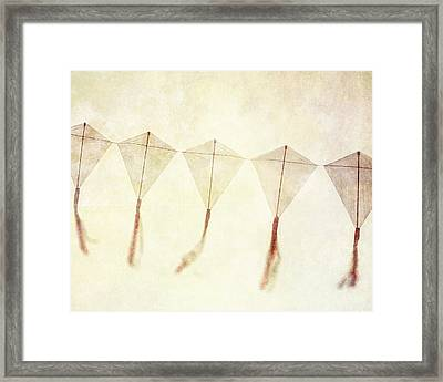 Come Fly Away - Kite Photography Framed Print by Lisa Russo